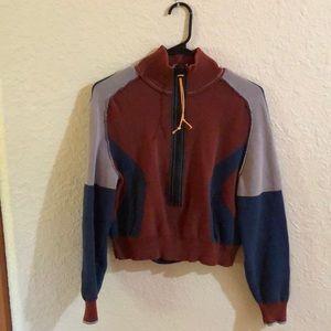 Free people zip up sweater